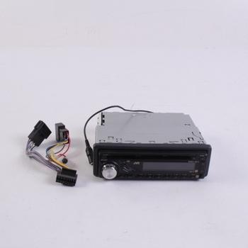 Autorádio JVC KD-G322 černé