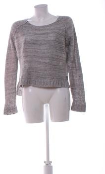 Dámský zimní svetr Pepco šedý