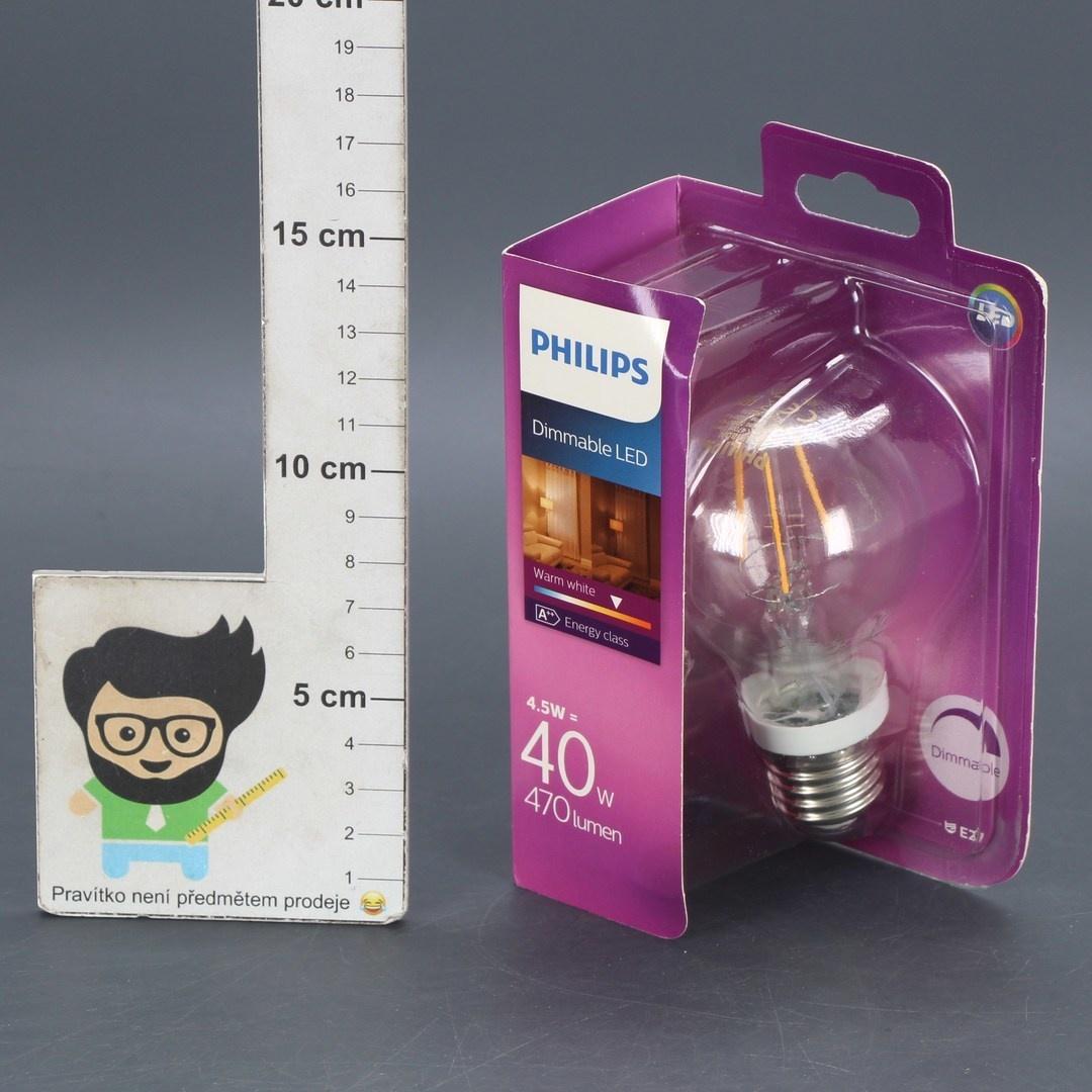 LED žárovka Philips E27 40 W