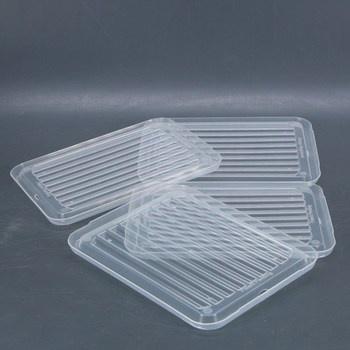 Plastová víčka na krabice 4 kusy