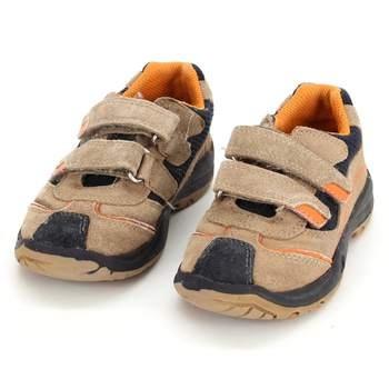 0c9e46d6f559 Dětské boty na suchý zip Gären-Schuhe