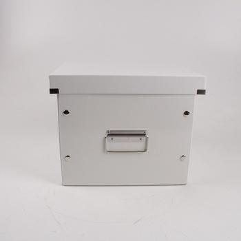 Archivační krabice bílé barvy