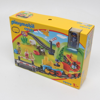 Železniční souprava Playmobil Moje první železnice