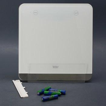 Bílá digitální váha KE1506