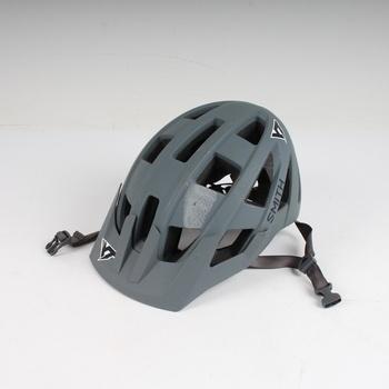 Cyklistická helma Smith šedá