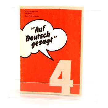 Učebnice Rozhlasový kurz němčiny Rudolf Schneider