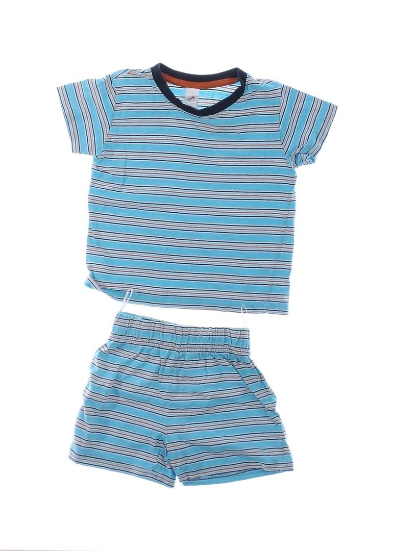 Dětské krátké pyžamo C&A pruhované modré
