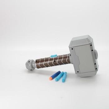 Kladivo NERF E7379 Power Moves Avengers Thor