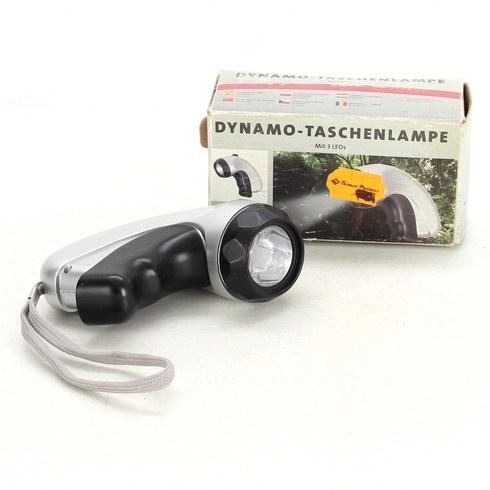 Kapesní LED svítilna na dynamo FL0806