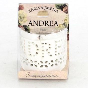 Jmenný svícen Albi Zářivá jména Andrea