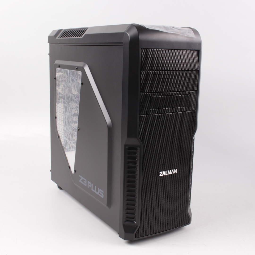 Zalman Z3 Plus černá