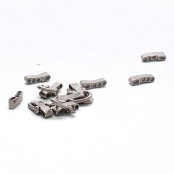 Ocelové spony Lixada 10 kusů