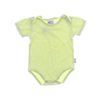 Kojenecké body Baby jednobarevné zelené