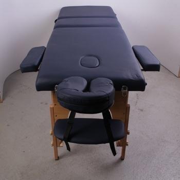 Masážní stůl H-Root přenosný černý