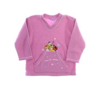 Dětská mikina Disney Medvídek Pú růžová