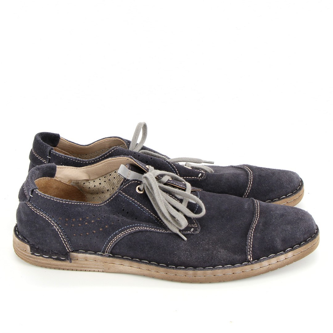 Pánské šedé boty na tkaničky