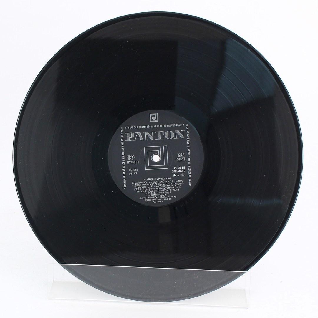 Vinyl Jiří Vašíček: Je krásné zpívat vám
