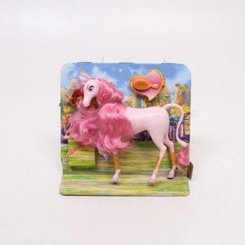Simba velký jednorožec s růžovou hřívou