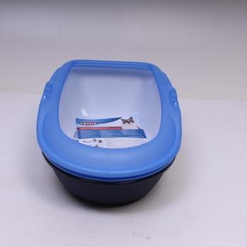 Toaleta pro kočky Trixie Berto modrá