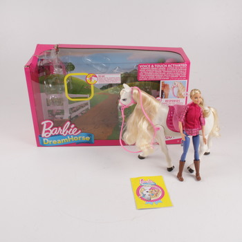 Panenka Barbie s koněm Dream Horse Mattel