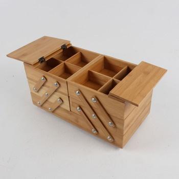 Úložný přenosný dřevěný box