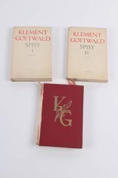 Klement Gottwald: Spisy I, Spisy IV, Deset