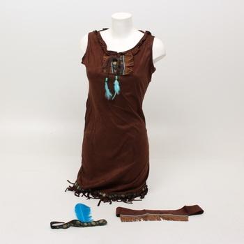 Karnevalové šaty Widmann indiánka
