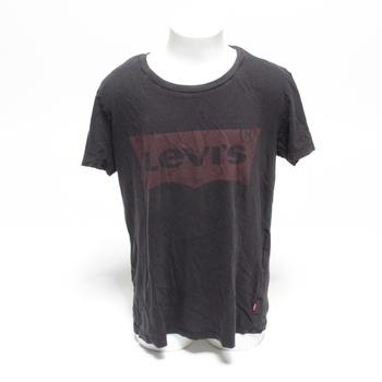 Dámské tričko Levi's černé s červenou XS