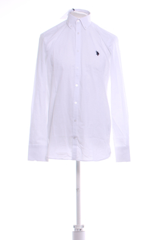 Pánská košile U.S. Polo Assn. bílá M