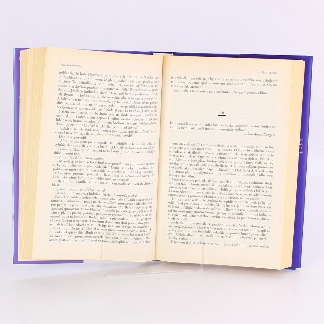Kniha Bestseller-Olivia Goldsmi