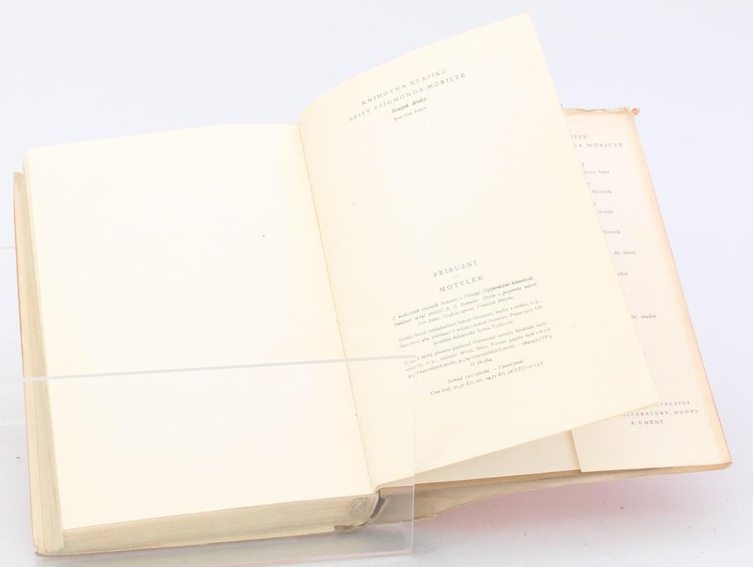 Kniha Zsigmond Möricz: Příbuzní, Motýlek