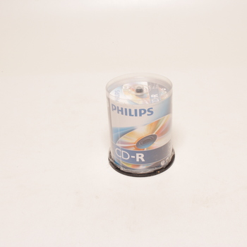 Balení CD-R Philips 80MIN 100 ks