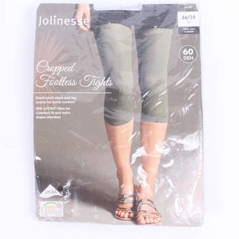 Capri legíny Jolinesse khaki 60b482a404