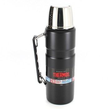 Nerezová termoska Genuine Thermos černá