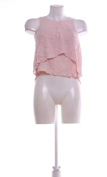 Dámský top Bershka odstín růžové