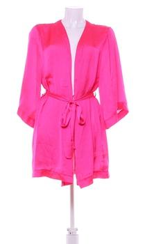 Dámský elegantní župan H&M růžový