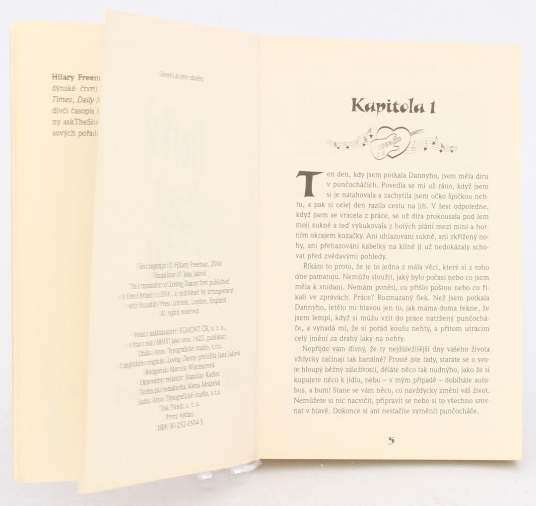Kniha H. Freemanová: Hořký akord lásky