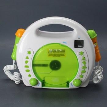 Přehrávač X4-Tech Bobby Joey MP3 Akku