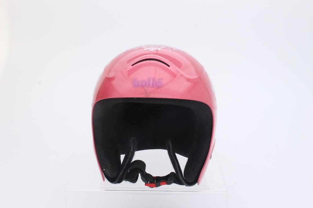 Dětská lyžařská přilba Bollé, růžová