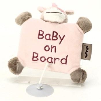 Plyšák Nattou Baby on board