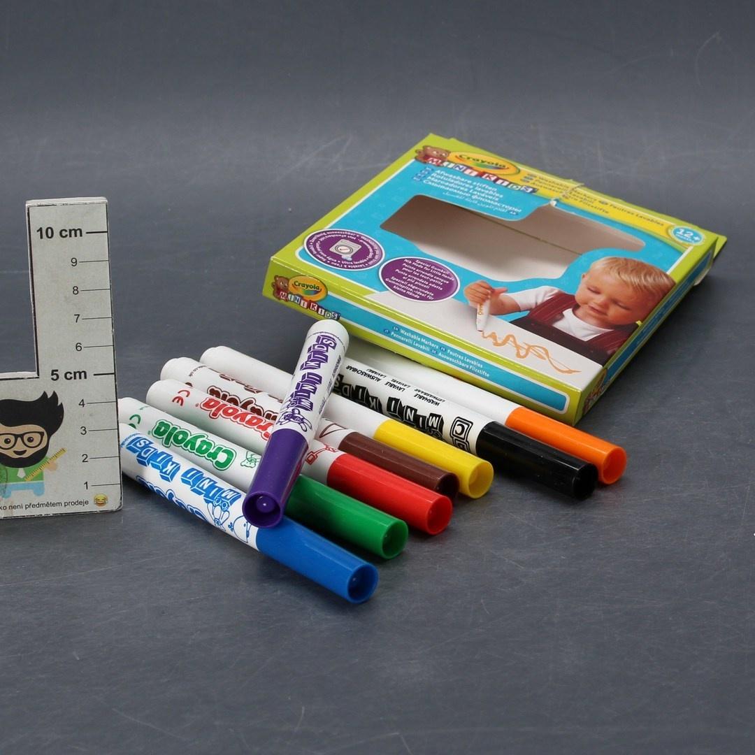 Sada fixů Crayola mini kids 8ks