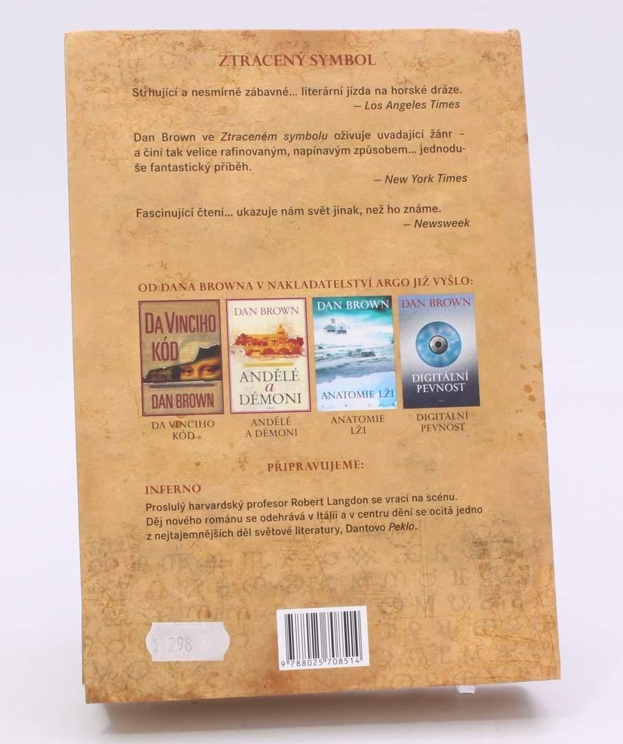 Kniha Dan Brown: Ztracený symbol