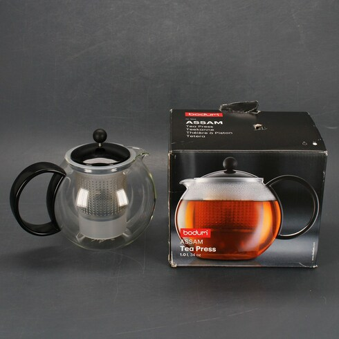 Čajová konvice Bodum skleněná Assam