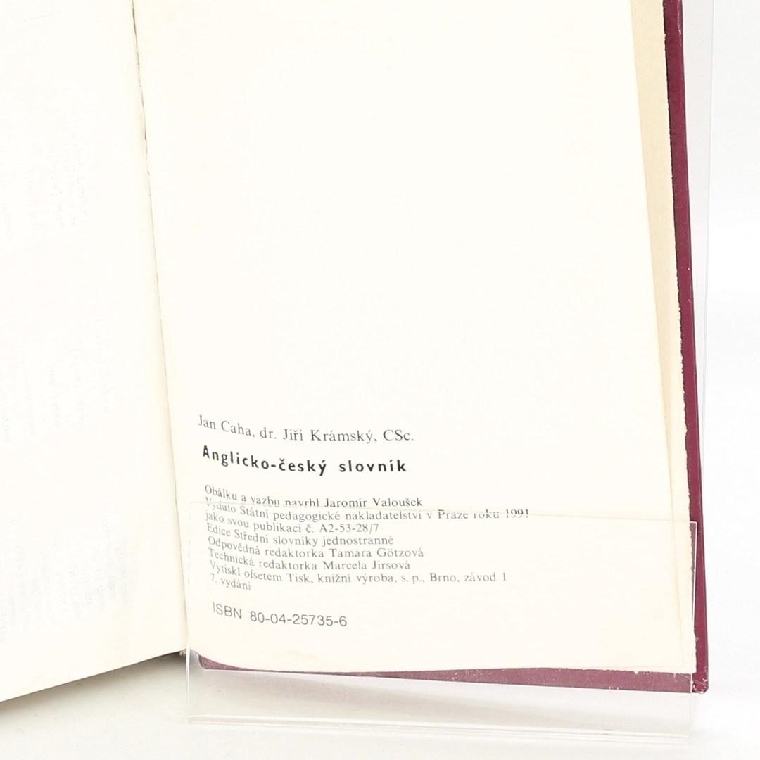 Slovník Anglicko český slovník