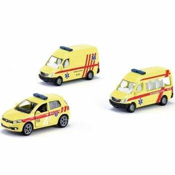 Sada autíček Siku 1825 ambulance