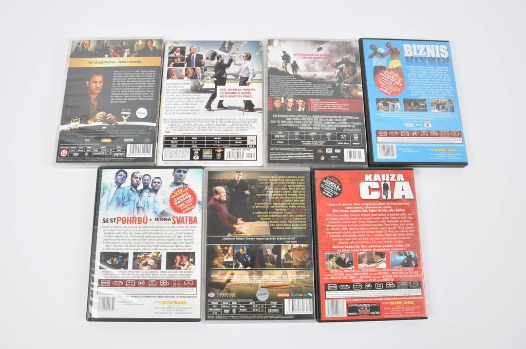 DVD Šest pohřbů a jedna svatba, Cash apod.