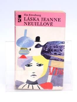 Kniha Láska Jeanne Neuillové Ilja Erenburg