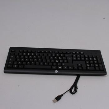 Kabelová klávesnice HP H3C52AA