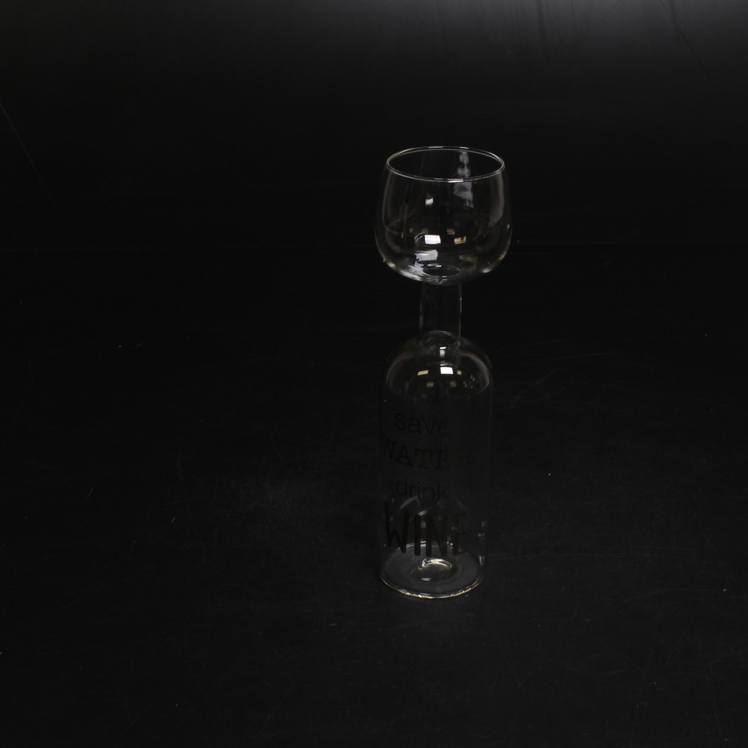 Vinná láhev a sklenice v jednom iLP 750 ml