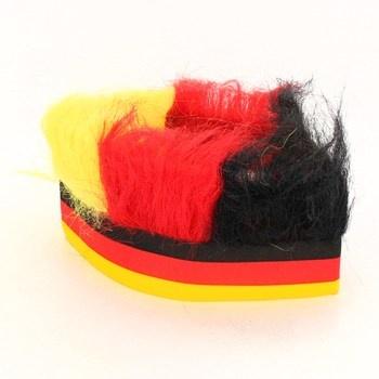 Čelenka na hlavu barvy Německa